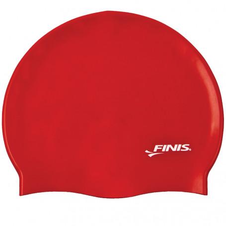 Gorro Silicona FINIS Rojo